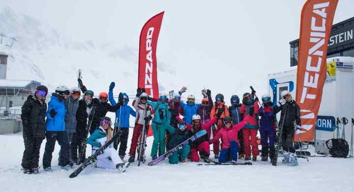 Les Femmes et le ski